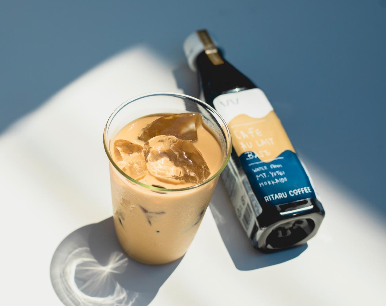 RITARU COFFEEで人気の アイスカフェオレとは?